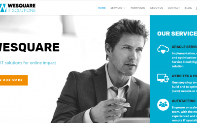 WESQUARE PRESENTS NEW CORPORATE IDENTITY & WEBSITE